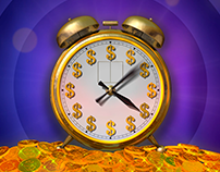 Cash Clock - Big Red Button Promotion