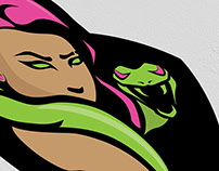 Eve's of Destruction Logo Design