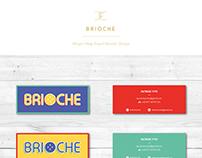 Brioche Burger Visual Identity Design