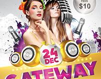 Gateway Party Flyer