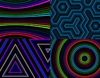 Color Glow - VJ Loop Pack (6in1)
