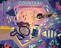 Cousteau - Picture Book Illustrations