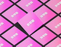 """""""DUE"""" logo&marks&icon&poster, tryin' black&pink colors*"""