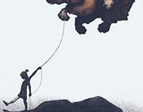 Deflated Poster
