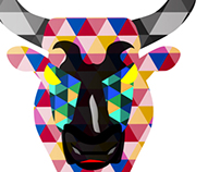 Illustration: Spain's Fighting Bull