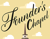 Founder's Chapel Event Poster