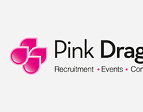 Pink Dragon Logo & Website