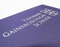 Thomas Gainsborough School branding