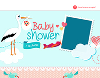 Baby Shower Web Site