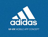 Adidas e-commarce mobile app
