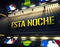 Beisbol por TVMax