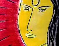 #Abstract art - A women