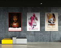 Art Event Poster Sets