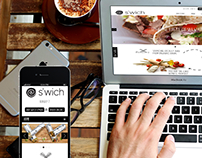 S'WICH / Website & iOS Mobile App