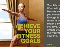 Life Time Fitness Coffee Table Book