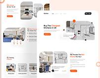 Kitchen Landing Page