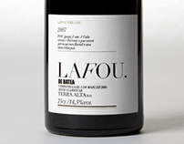La Fou Celler Identity and packaging