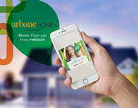 Mobipost Mobile Flyer for Urbane Homes