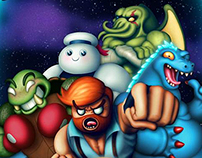 Character design for Muster My Monsters iPhone game