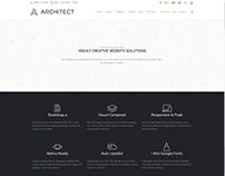 Resources Page - Architect WordPress Theme