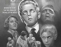 """Comp for """"Village of the Damned"""" (1960) Tribute Poster"""