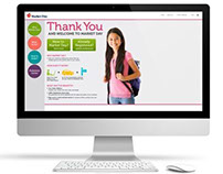 New Customer Langing Page