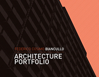 Architecture Portfolio - 2010 | 2013