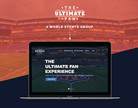 The Ultimate Fan Website Redesign