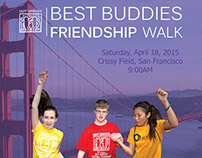 Best Buddies Friendship Walk 2015 Poster