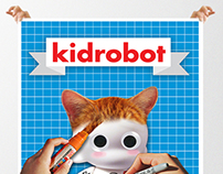 Kidrobot Promo Brochure (French Fold)