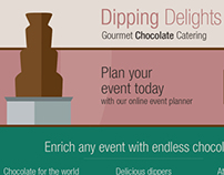 Dipping Delights website concept