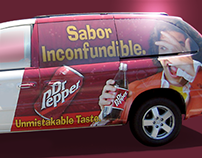Dr Pepper Van Wrap