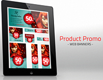 Product Promotion Web Banner Set