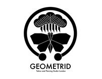 Logo of Geometrid Tattoo Studio (concept)