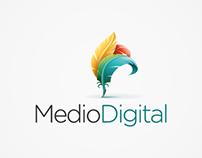 MedioDigital - Logo y Papelería