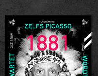 Poster design Pablo Picasso