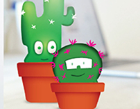 "Pot Plants Mania ""vinyl toys project"""