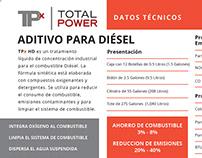TPx HD Datos Técnicos