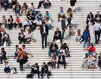 A different perspective - La Défense, Paris