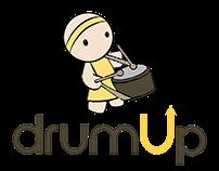 DrumUp Web App UX/UI
