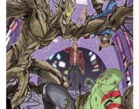 """Marvel Crisis Protcol"" Board Game"
