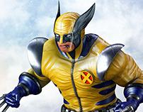 Wolverine 3d Sculpt.