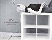 ANIA for Elegant Magazine by Laura Kovanska.