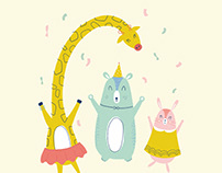 NEW! Illustrated A4 posters for kids