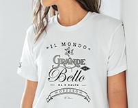 SICILIKE // Typographic t-shirt