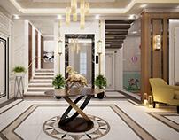 Villa livingroom design