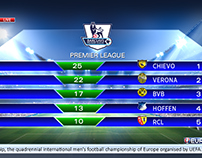 Vizrt Kurdsat News Sports Program Graphics.