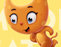 Moon Cat - Character Design