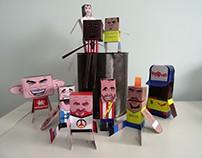 """""""La Liga"""" Paper Toys"""