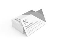 / Tarjetas de visita · Panfleto / ECPA · EyR